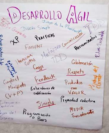 Elementos del Desarrollo Ágil en Curso de CSD