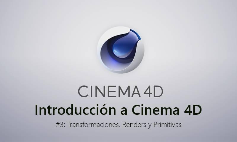 Introducción a Cinema 4D: Transformaciones