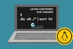 Comando DU en Linux. Listar el contenido de una carpeta