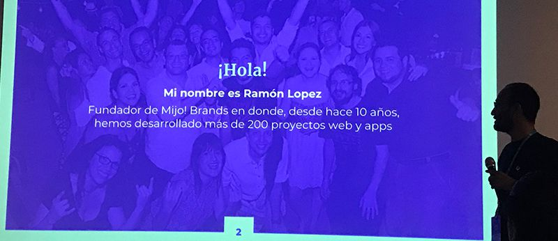 Ramón López habla sobre el en arquitectura de información y prototipado
