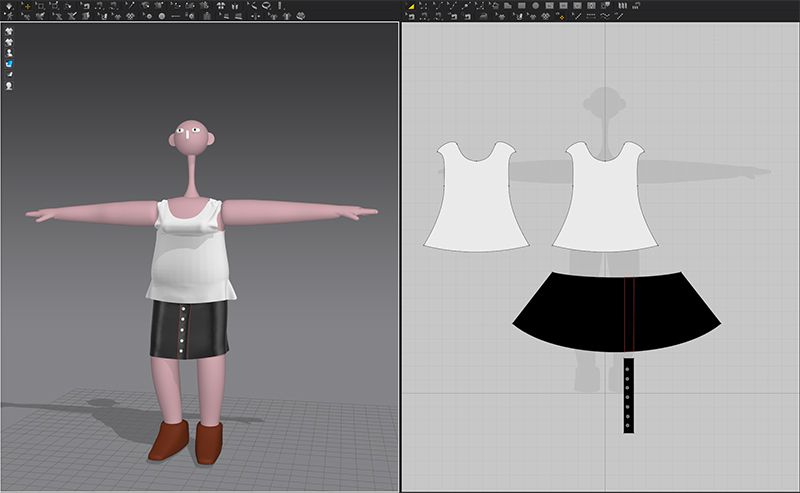 Marvelous Designer: Work in Progress