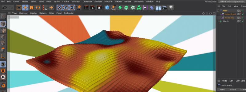 Maxon Cinema 4D: Modelado y Animación 3D