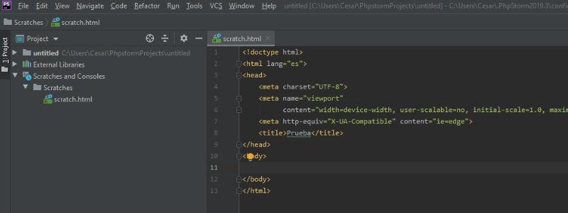 JetBrains: Editor de Código